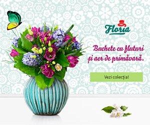 Reduceri flori si buchete de flori Floria