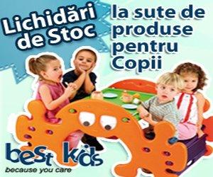Lichidari de stoc la produsele pentru copii si bebelusi BestKids