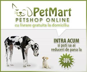 Reduceri hrana pentru animale promotii PetMart