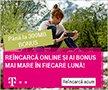 Bonus mai mare la incarcare cartela online Telekom