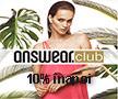 Reduceri Answear club 10% la cumparaturi