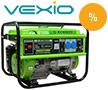 Promotii Vexio reduceri pompe, generatoare, aeroterme, unelte gradina