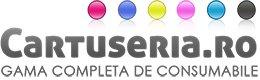 Cartuseria logo - cumpara consumabile, birotica si papetarie si castiga bani online