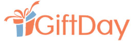 GiftDay logo cumpara cadouri personalizate huse tricouri sacose cani covorase si castiga bani online