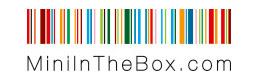 MiniInTheBox logo cumpara electronice gadgeturi accesorii pc auto si castiga bani online