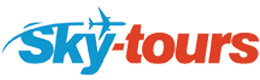 SkyTours logo - cumpara bilete de avion, zboruri, inchirieri masini si castiga bani online