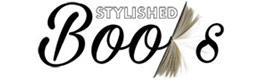 Stylished books logo cumpara carti romance ezoterism actiune dezvoltare profesionala si castiga bani online