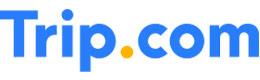 Trip.com logo cumpara rezervari hoteluri zboruri, bilete avion tren, calatorii si castiga bani online