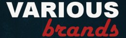Various Brands logo - cumpara adidasi si haine sport si castiga bani online