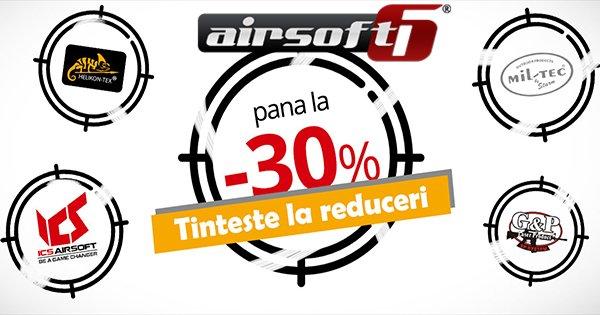 AirSoft6 cashback - cumpara arme, echipamente tactice si consumabile airsoft si castiga bani online