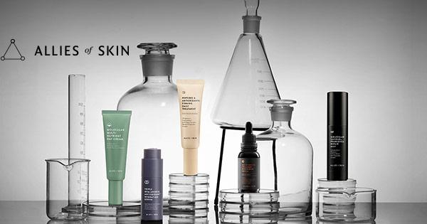 Allies of Skin cashback - cumpara cosmetice seruri creme tratamente de zi noapte si castiga bani online