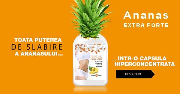 Ananas Extra Forte cashback - cumpara produs de slabire bromelaina si castiga bani online