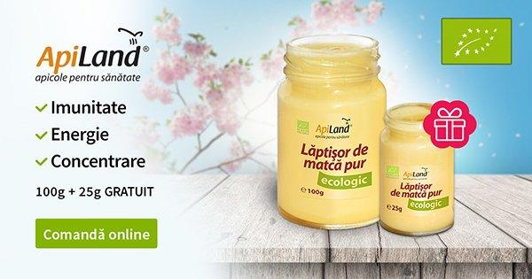 ApiLand cashback - cumpara produse apicole miere, pastura, polen, laptisor de matca si castiga bani online