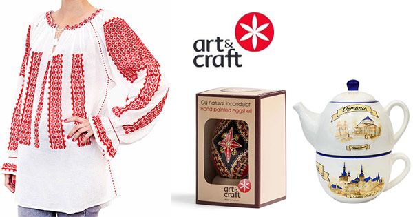 ArtandCraft cashback - cumpara ceraminca bluze traditionale decoratiuni delicatese si castiga bani online