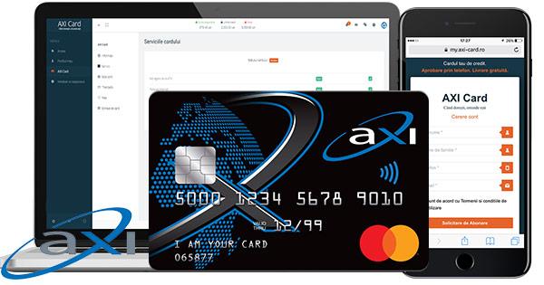 AXI Card cashback - aplica la credit nevoi personale, cu card atasat, imprumut rapid si castiga bani online
