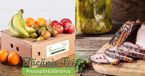 Bacania Tei cashback - cumpara fructe legume carne, mezeluri peste lactate oua cereale si castiga bani online