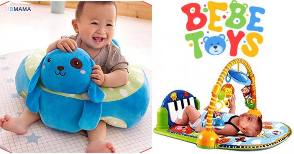 Bebe Toys cashback - cumpara jucarii, fotolii de plus, articole bebelusi si castiga bani online