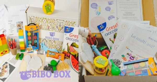 Bibo Box cashback - cumpara cutie educationala copii intre 3 si 6 ani si castiga bani online