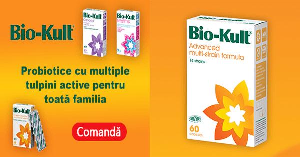 Bio Kult cashback - cumpara probiotice naturale si castiga bani online