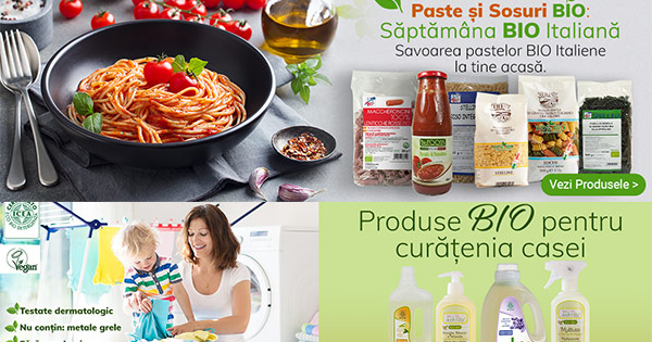 Bio Mania cashback - cumpara fructe, bauturi, alimente, produse bio si castiga bani online