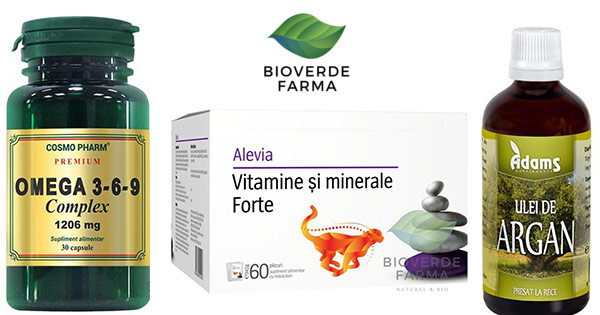 Bioverde Farma cashback - cumpara superalimente, suplimente, cosmetice bio si castiga bani online