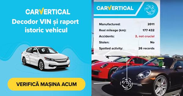 carVertical cashback - cumpara raport istoric autoturism vehicul auto si castiga bani online