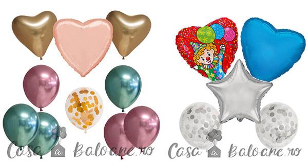 Casa cu baloane cashback - cumpara baloane cu heliu, latex, folie si personaje, botez si castiga bani online