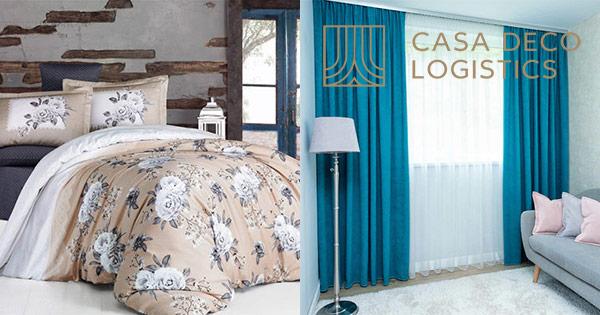 Casa Deco Logistics cashback - cumpara jaluzele aluminiu perdele draperii galerii rolete si castiga bani online