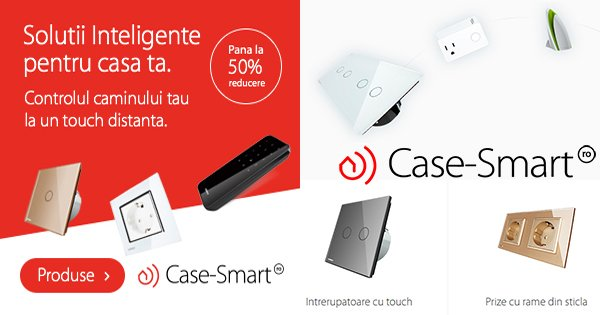 Case smart cashback - cumpara intrerupatoare touch cu telecomanda prize inteligente si castiga bani online