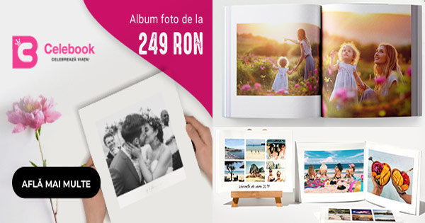 Celebook cashback - cumpara fotocarti, albume foto personalizate si castiga bani online