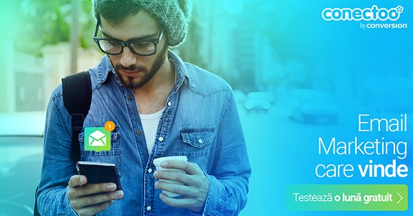 Conectoo cashback - cumpara solutie completa de email marketing, newsletters si castiga bani online