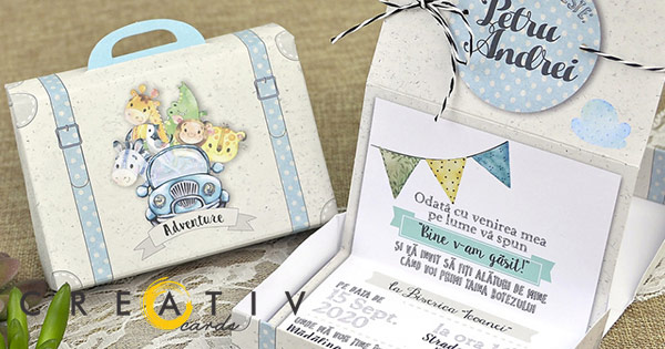 Creativ Cards cashback - cumpara invitatii nunta botez evenimente accesorii si castiga bani online
