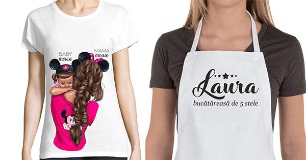 Creativ gift cashback - cumpara cadouri personalizate tricouri cani sorturi si castiga bani online