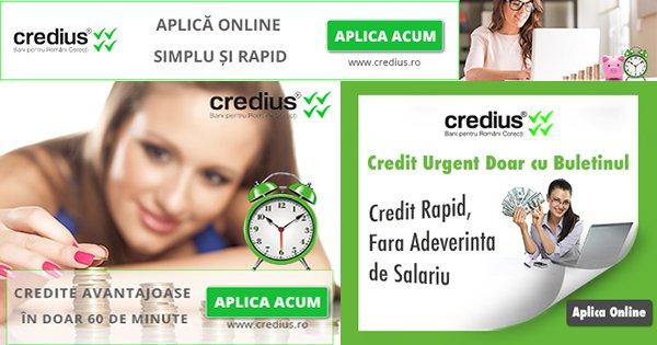 Castiga bani cu creditele Credius retea afiliere