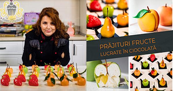 Cursuri BeStoryTeller cashback - cumpara curs prajituri fructe in ciocolata si castiga bani online