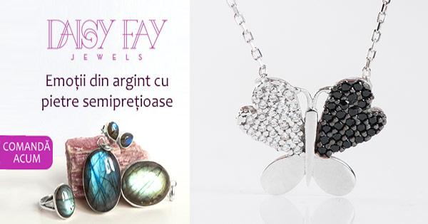 DaisyFay cashback - cumpara bijuterii dama argint, inele, cercei, bratari si castiga bani online