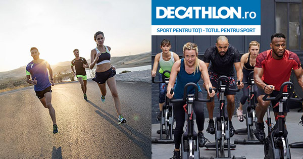 Decathlon cashback - cumpara articole pentru drumetie ciclism inot alergare si castiga bani online