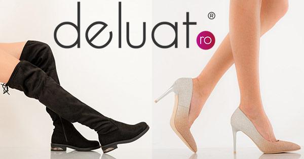 DeLuat cashback - cumpara incaltaminte dama, pantofi dama, cizme, ghete si castiga bani online