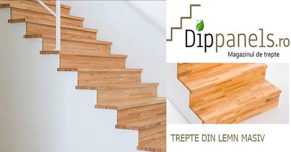 DIPpanels cashback - cumpara trepte balustrade scari din lemn masiv si castiga bani online