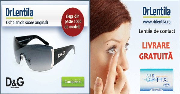 DrLentila cashback - cumpara lentile de contact, ochelari de vedere, soare si castiga bani online