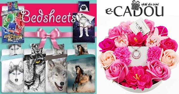 E-cadou cashback - cumpara bijuterii, ceasuri, jucarii, cosmetice, fashion si castiga bani online