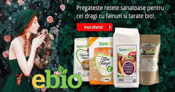 Ebio cashback - cumpara alimente bio bauturi miere uleiuri cereale si castiga bani online