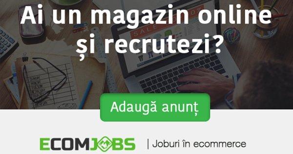 eComJobs cashback - aplica pe site de recrutare, locuri de munca in eCommerce si castiga bani online