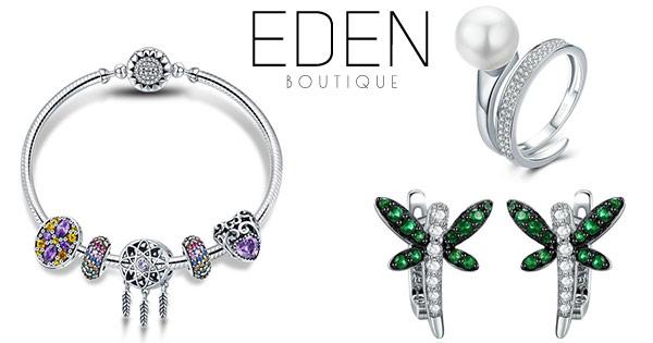 Edenboutique cashback - cumpara bijuterii argint cercei inele bratari coliere talismane si castiga bani online