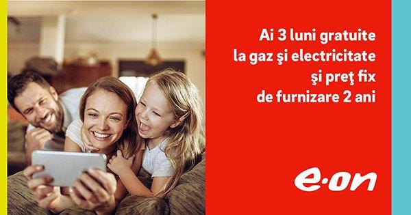 E.ON Flash cashback - cumpara gaze naturale si electricitate si castiga bani online