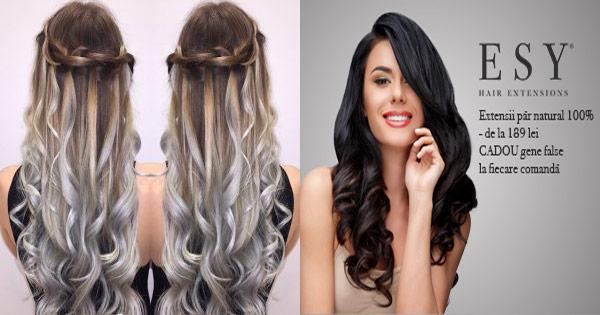 Esy Hair Cashback Cumpara Extensii Din Par Natural Cozi De Par Si