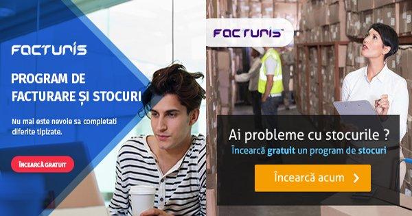 Facturis cashback - cumpara program desktop de facturare, gestiune stocuri si castiga bani online
