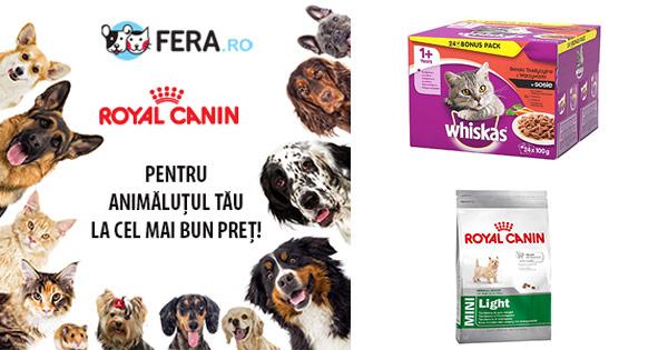 Fera cashback - cumpara hrana si accesorii pentru caini, pisici, pasari si castiga bani online