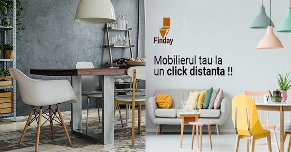 Finday cashback - cumpara saltele, scaune, mese, tablouri si castiga bani online