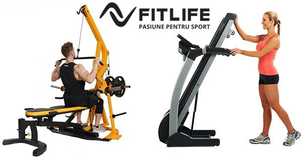 Fitlife cashback - cumpara aparate fitness echipamente aerobic benzi de alergare si castiga bani online